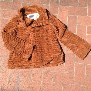 Furry Patagonia Jacket SOFT Cute Sz Small